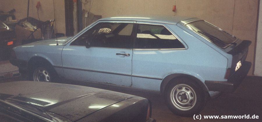 Scirocco I GTI , Bj. 1978, Floridablau, 110 PS