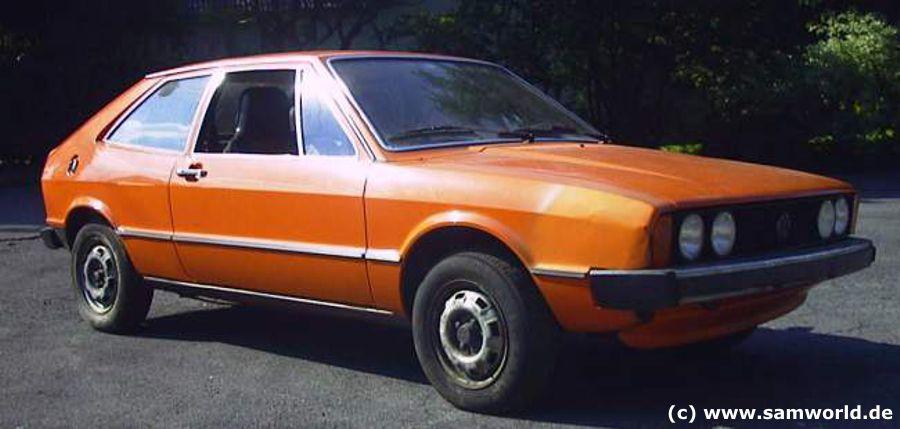 Scirocco I TS, Bj. 1974, Nepalorange, 70 PS