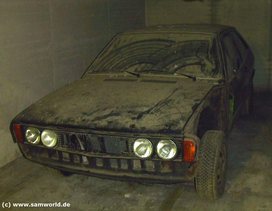 Scirocco I TS, Bj. und Modell 1974, Palmagrün metallic, 70 PS