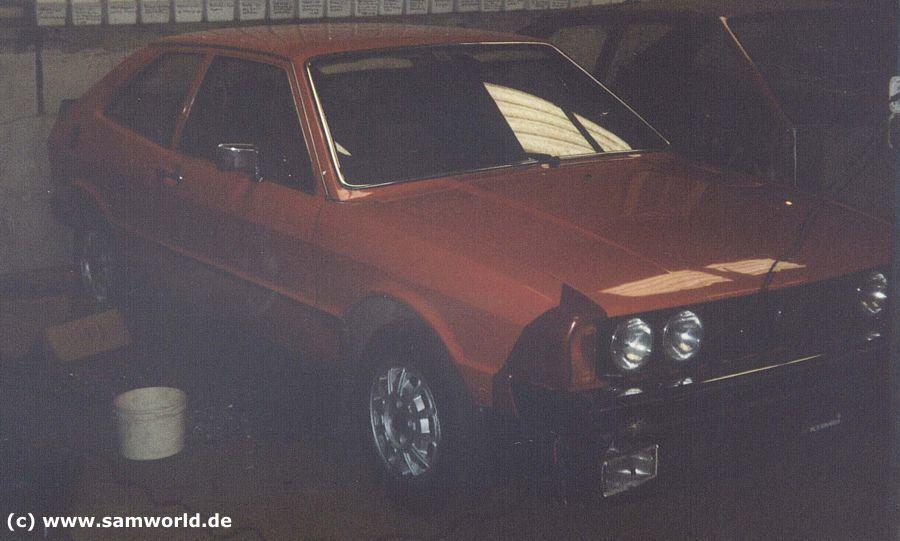 Scirocco I TS, Bj. 1975, Tornadorot, 75 PS