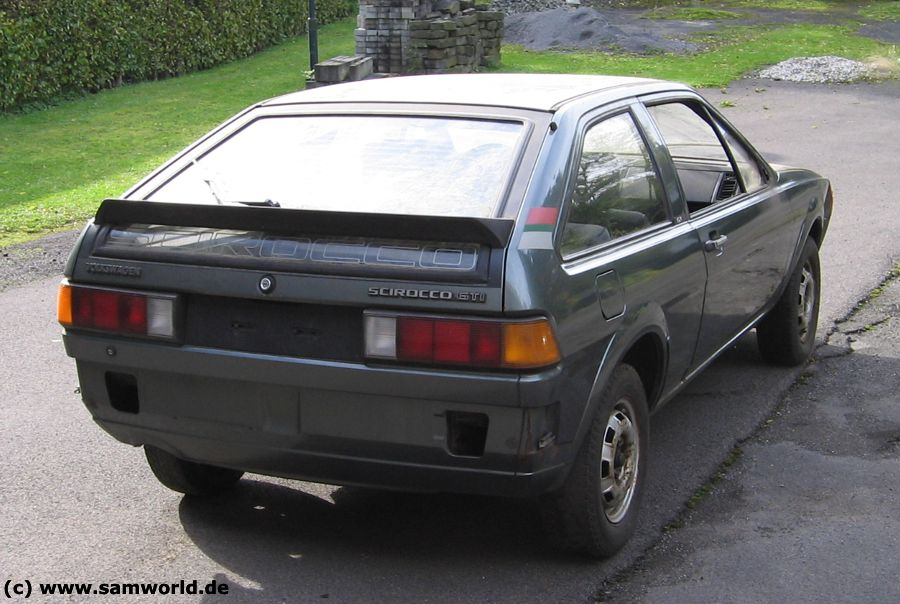 Scirocco II GTI , Bj. 1982, Anthrazit metallic, 112 PS