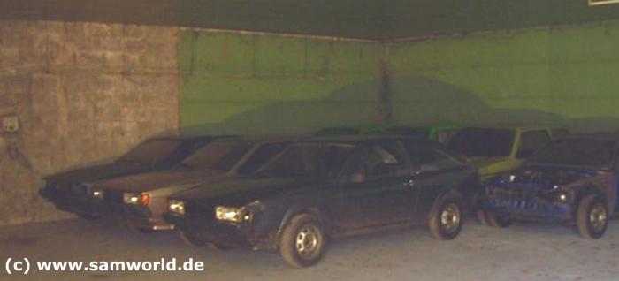 Meine alte VW Golf und Scirocco Sammlung - Halle 1