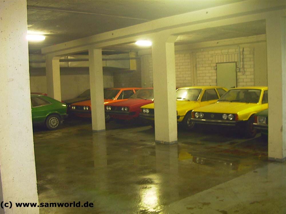 Meine alte VW Golf und Scirocco Sammlung - Halle 3