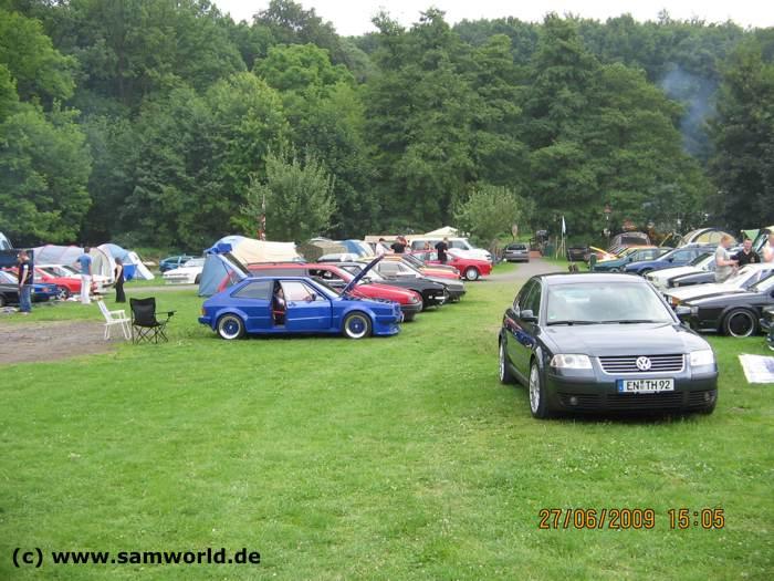 Scirocco und Corrado Treffen in Mechernich auf Burg Satzvey vom 26.06 bis 28.06.2009